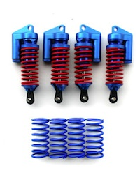 H/D PIGGYBACK SHOCK SET BLU REVO (4)
