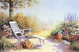 SUMMER KISSES GARDEN 1,000 PIECE PUZZLE