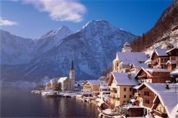 HALLSTATT AUSTRIA 1,000 PIECE PUZZLE GLOW-IN-THE-DARK