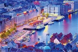 BERGEN NORWAY 1,000 PIECE PUZZLE