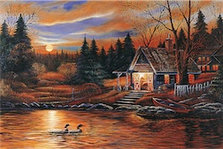 ROMANTIC SCENERY 1,500 PIECE PUZZLE