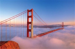 GOLDEN GATE BRIDGE, SAN FRANCISCO 1,500 PIECE PUZZLE