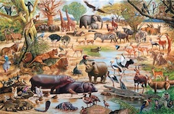AFRICAN PARADISE 1,500 PIECE PUZZLE