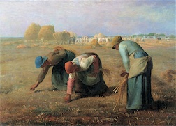 THE GLEANERS 2,000 PIECE PUZZLE