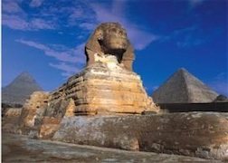 THE GREAT SPHINX OF GIZA 500 PIECE PUZZLE GLOW-IN-THE-DARK