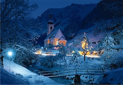 1500 PIECE RAMSAU, BAVARIA, THE ALPS PUZZLE