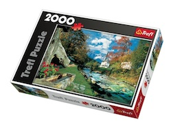 2000 PIECE BAVARIAN ALPS, GERMANY