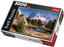 3000 PIECE LAKE IN DOLOMITES PUZZLE