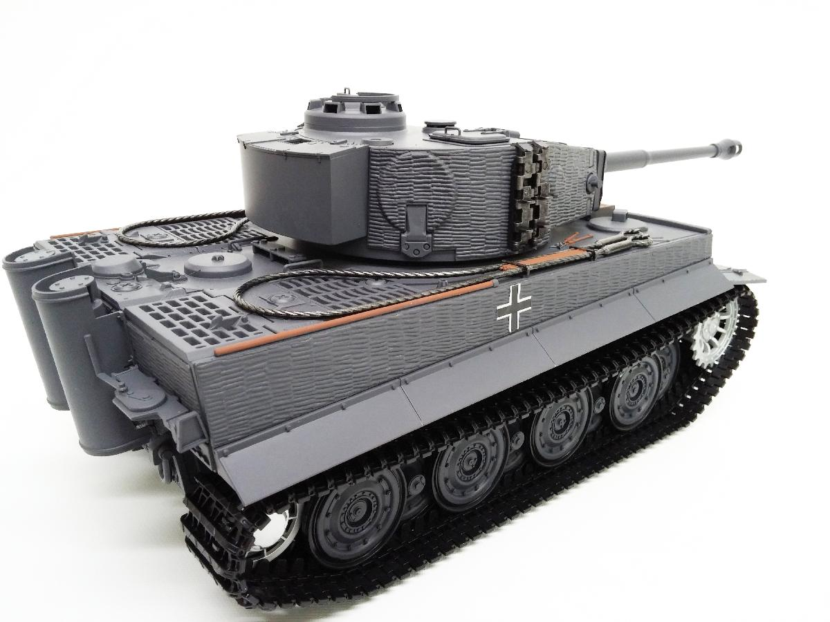 Taigen Tiger 1 Late Version (Plastic Version) Airsoft 2.4Ghz RTR RC Tank 1/16th Scale - Taigen Late Tiger 1 Airsoft (Plastic Version)