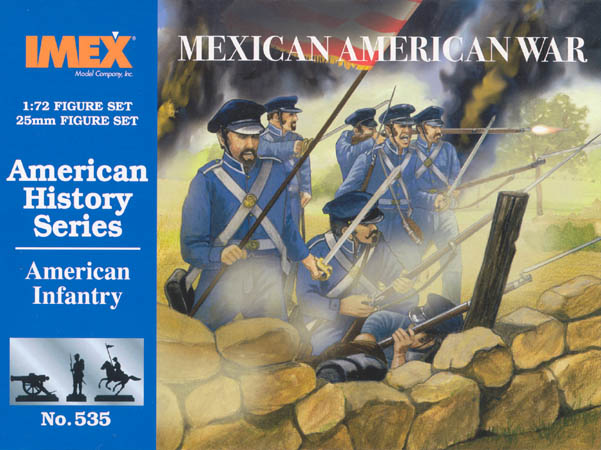 1/72 AMERICAN INFANRTY MEXICA WAR
