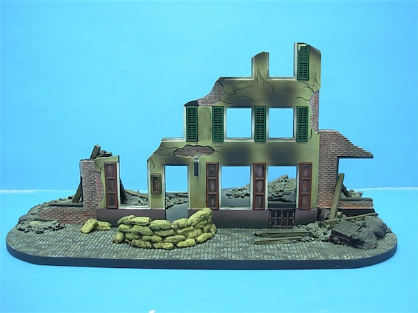 1/72 CITY HOTEL POLYSTONE BUILDING