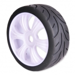 1/8 BUGGY TIRE/RIM SET H (PAIR)