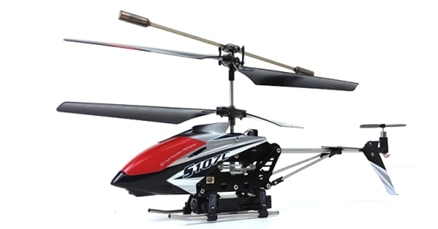 (S107C) 3 CHANNEL FULL FUNCTION HELICOPTER WITH GYRO, CAMERA AND VIDEO.  SAME SIZE AS SHARK II