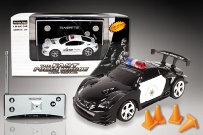 (2006D) MICRO POLICE R/C VEHICLES ASST.