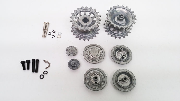 TIGER 1 LATE METAL DRIVE WHEEL AND IDLER WHEEL SET