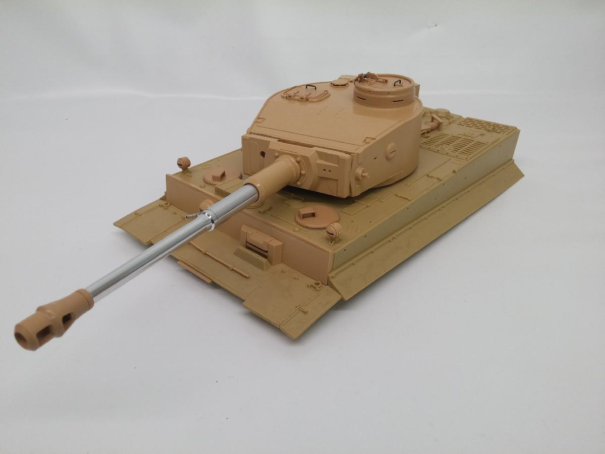 Parfait TIGER 1 EARLY AIRSOFT PLASTIC TURRET AND UPPER HULL KG06