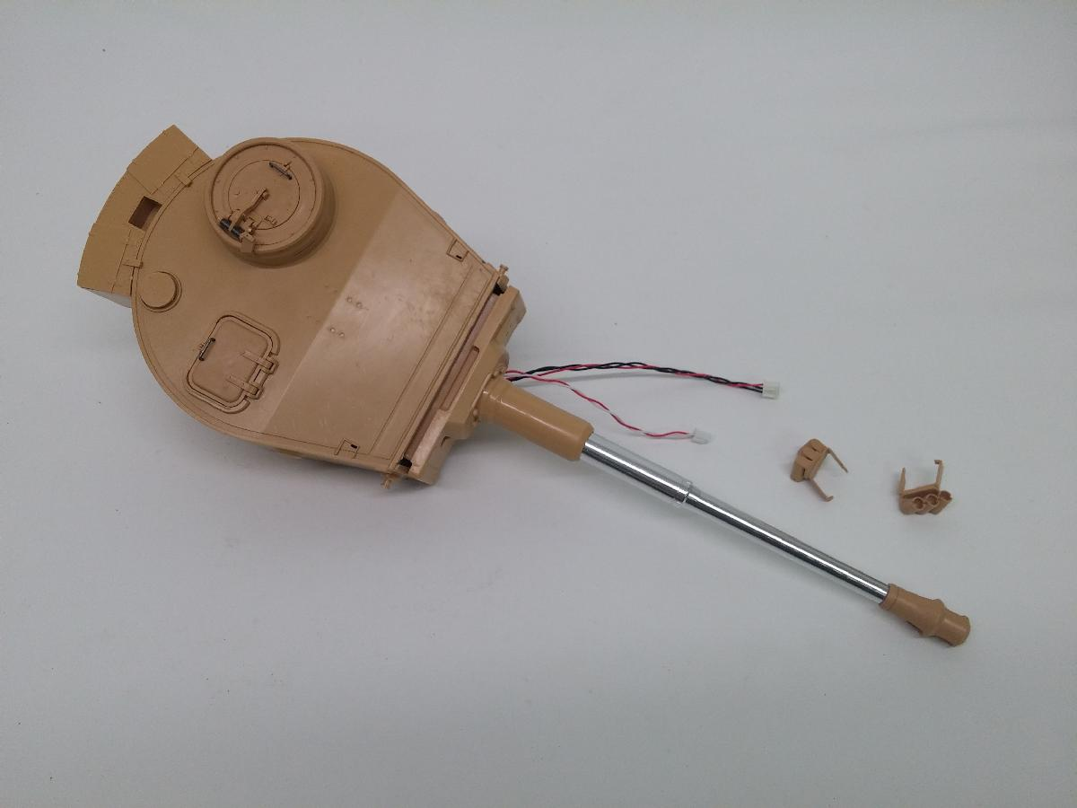 TIGER 1 EARLY AIRSOFT PLASTIC TURRET