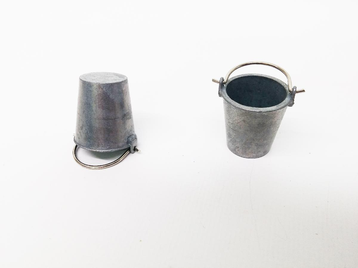 Metal Bucket Set (1 pair)