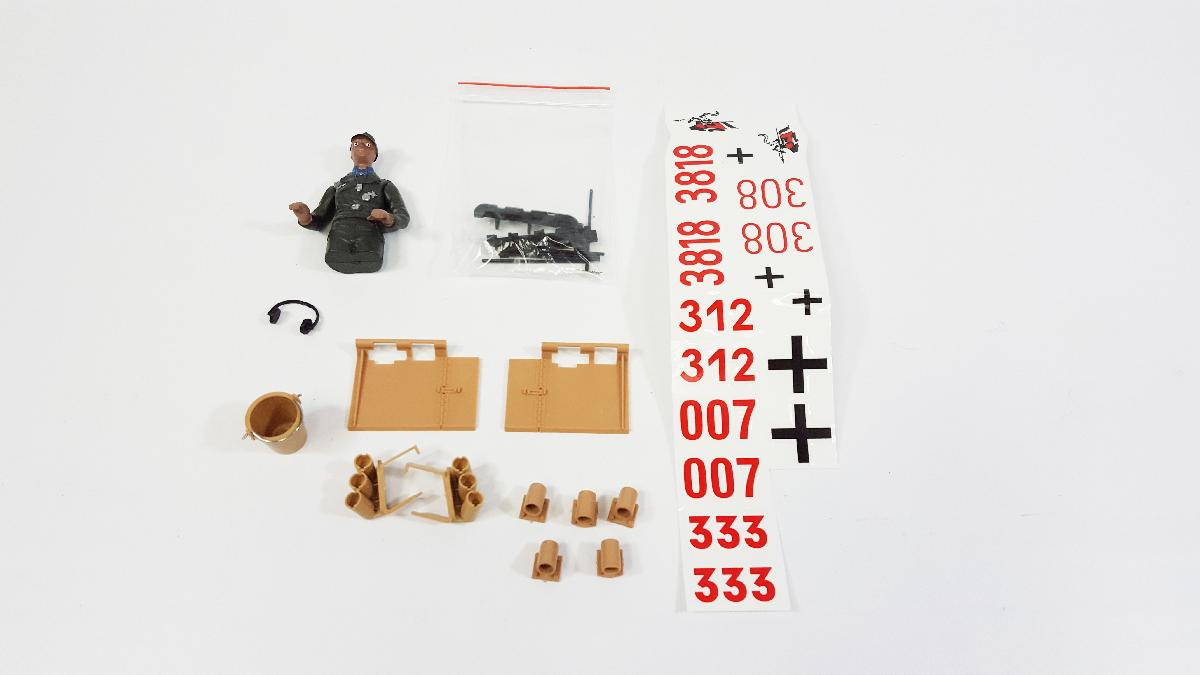 Accessory Kit - Tiger 1 Early Version Plastic Edition - Fits: TAG12010, TAG12011, TAG12012, TAG12013