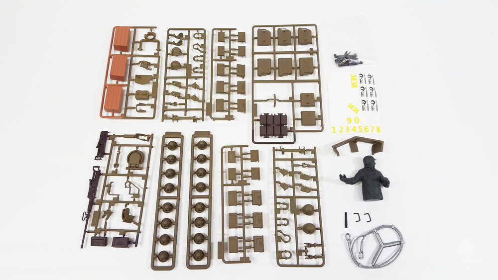Accessory Kit - M26 Pershing - Fits: TAG12060