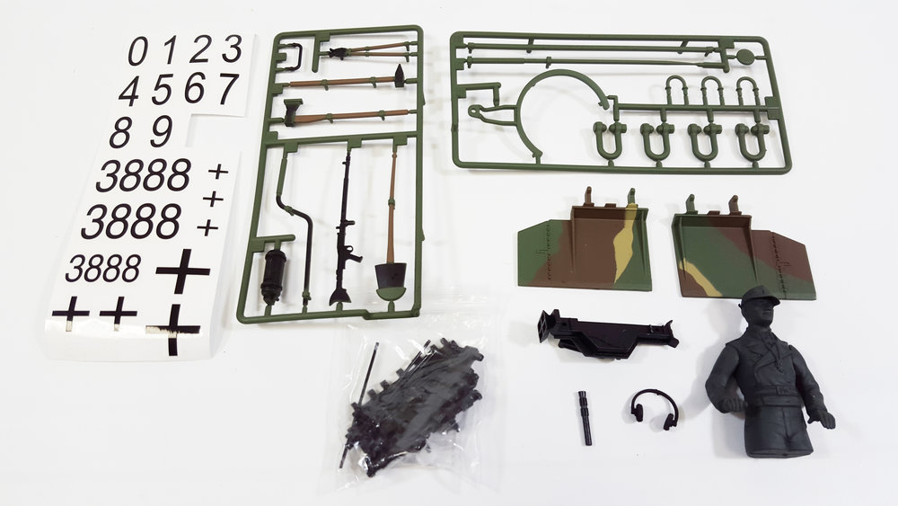 Accessory Kit - King Tiger (Porsche Turret) - Fits: TAG13005, TAG13006