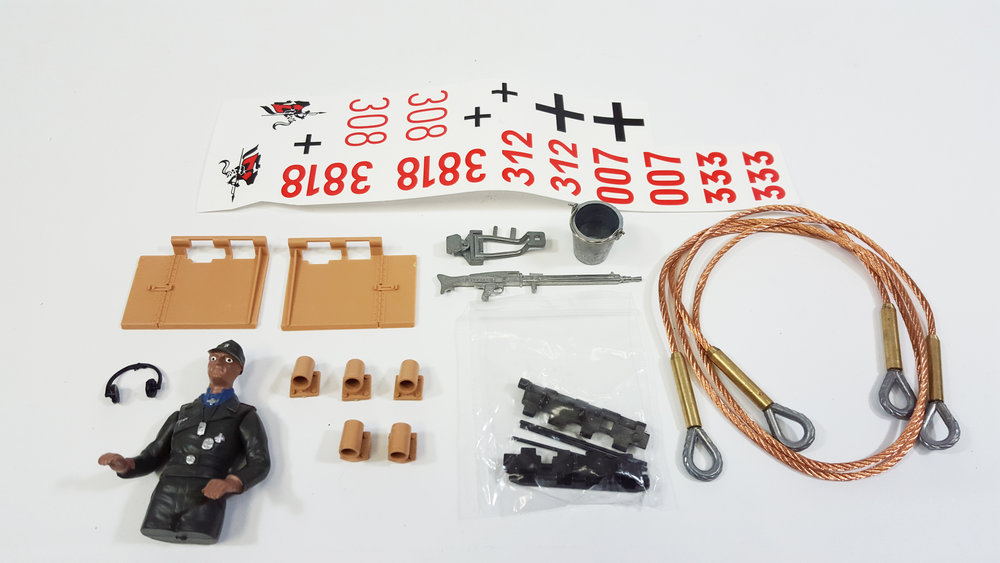 Accessory Kit - Tiger 1 Mid/Late Version Metal Edition - Fits: TAG12040, TAG12041, TAG13050