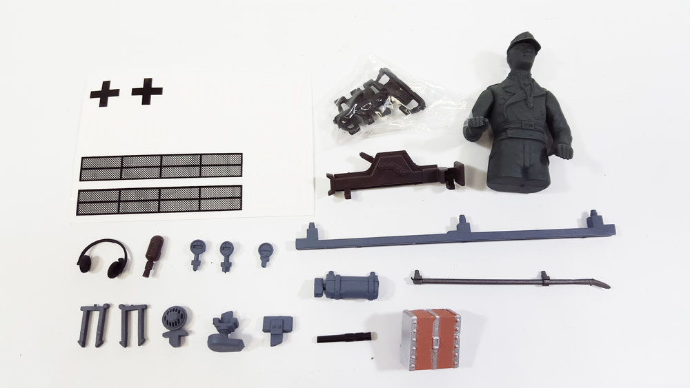 Accessory Kit - Panzer III Plastic Edition - Fits: TAG12085, TAG12086