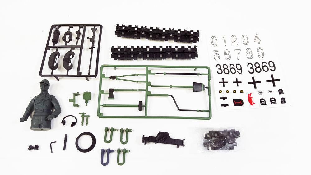 Accessory Kit - Jagdpanther Plastic Edition - Fits: TAG13020, TAG13021