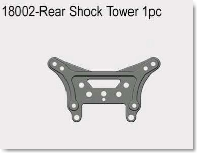 VRX1812-1821 1/18  REAR SHOCK TOWER 1PC