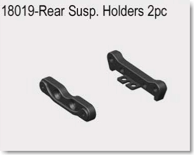 VRX1812-1821 1/18  REAR SUSP.HOLDER 2PCS