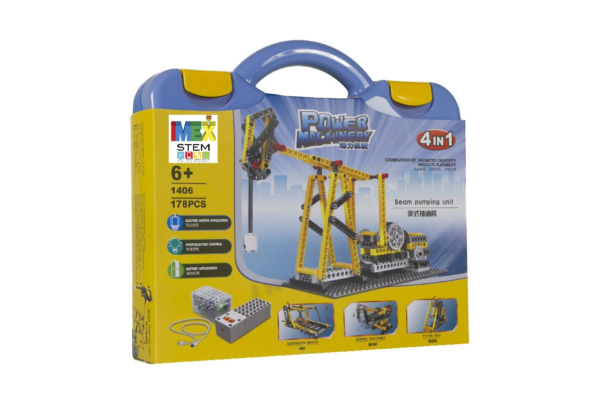 4in1 Power Machinery Beam Pumping Unit (178 Pieces)