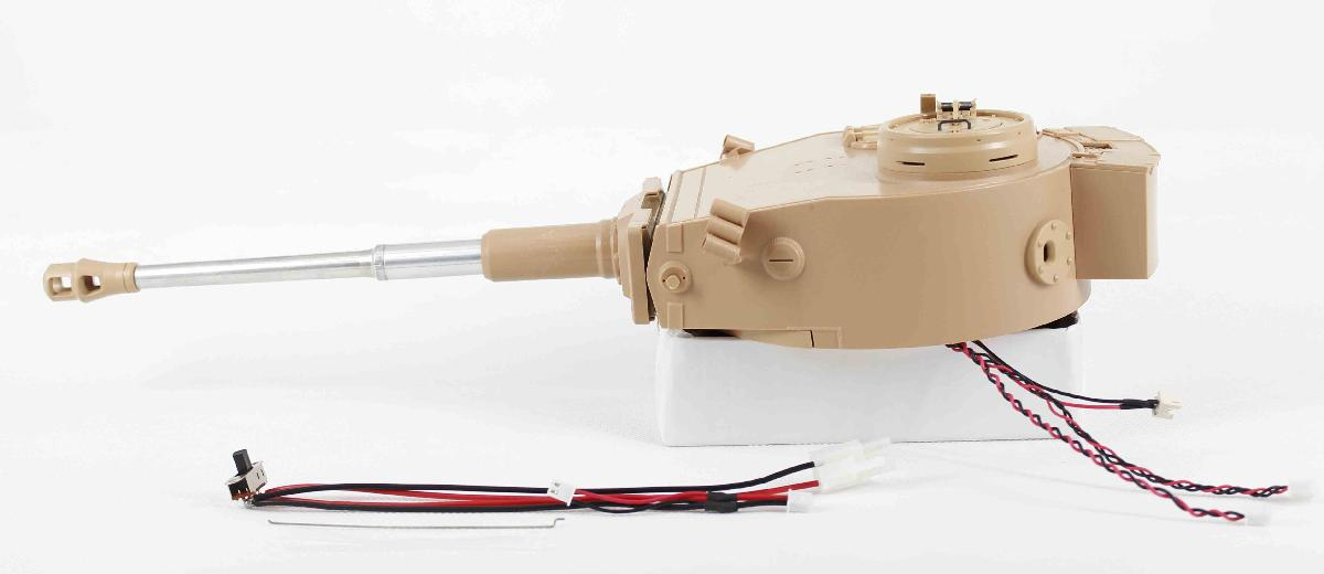 TIGER I EARLY PLASTIC AIRSOFT RECOIL TURRET - Airsoft Recoil Turret (Early)
