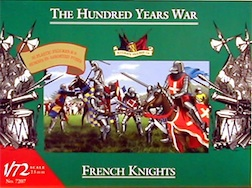 1/72 FRENCH KNIGHTS 1400 AD