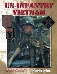 U.S.INFANTRY- VIETNAM BOOK