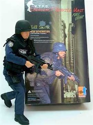 1/6 NYPD EMER SRVCE BILL SMITH