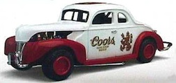 COORS DIECST FORD COUPE BNK