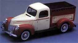 1/18 HIGH BED FORD TRUCK BANK