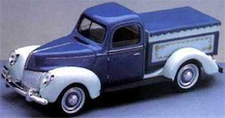 1/18 LOW BED FORD TRUCK BANK