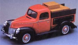 1/18 LOADED FORD TRUCK BANK
