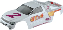 1/10 TRUGGY BODY- WHITE
