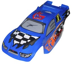 1/8- TRUGGY BODY- LEOPARD BLUE