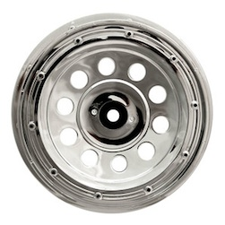 1/5 PLUTO RIM CHROME (FRONT PAIR)
