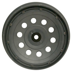 1/5 PLUTO RIM GUN METAL (REAR PAIR)