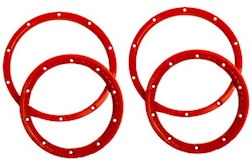 1/5 BEADLOCK WHEEL RING PAIR (RED)