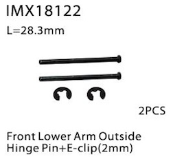 FRONT LOWER ARM OUTSIDE HINGE PIN+ E-CLI