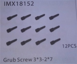GRUB SCREW 3*3-2*7