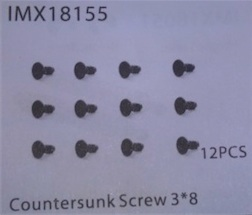 COUNTERSUNK SCREW 3*8