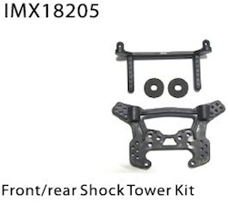 FRONT/REAR SHOCK TOWER + BODY POST +PAD+