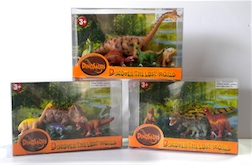 Counter Display Includes 3 Assorted Dino Styles, comes with 12 Pieces Total