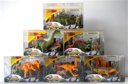 Counter Display Includes 6 Assorted Dino Styles, comes with 12 Pieces Total